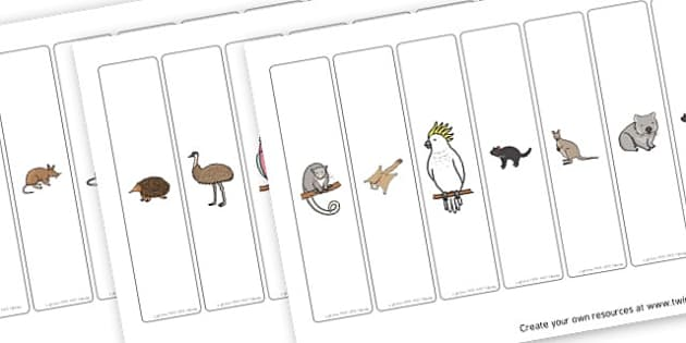 Animal bookmarks - Animals Awards and Certificates Primary Resources,  Certificates