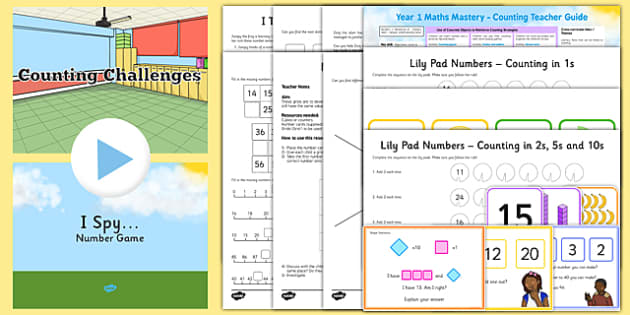 Year 1 Maths Mastery Counting Pack