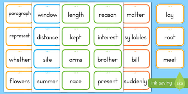Fry Words The Sixth Hundred Flashcards