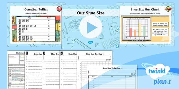 PlanIt Y3 Statistics Lesson Pack Charts and Graphs (1) - Statistics, handling data, bar chart, scale, data, tally chart, frequency table, interpret, Interpre