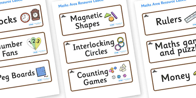 Bat Themed Editable Maths Area Resource Labels - Themed maths resource labels, maths area resources, Label template, Resource Label, Name Labels, Editable Labels, Drawer Labels, KS1 Labels, Foundation Labels, Foundation Stage Labels, Teaching Labels,