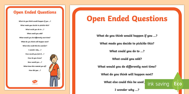 Open Ended Questions For Team Building