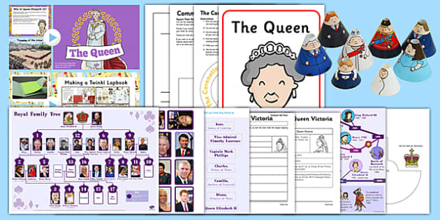 The Royal Family Lapbook After SATs Project