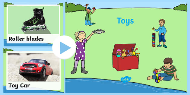 Toys Photo PowerPoint - powerpoint, power point, interactive, powerpoint presentation, toys powerpoint, toys presentation, toys photos, presentation, slide show, slides, discussion aid, discussion points