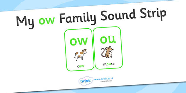 My ow Family Sound Strip - family sound strip, sound strip, my family sound strip, my ow sound strip, ow sound strip, ow family sound strip