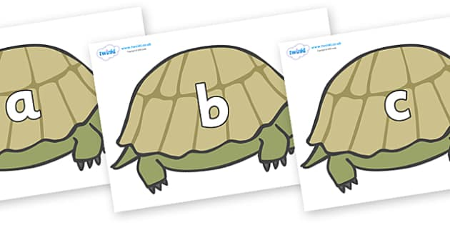 Phase 2 Phonemes on Tortoises - Phonemes, phoneme, Phase 2, Phase two, Foundation, Literacy, Letters and Sounds, DfES, display