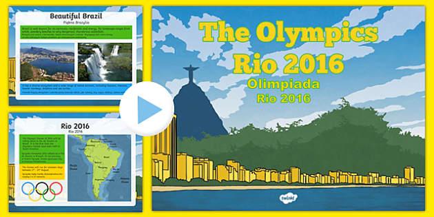 KS2 Olympic Games Rio 2016 PowerPoint Polish Translation - polish, Olympics 2016, Brazil, sports, Rio, KS2, Olympics, games, Olympians