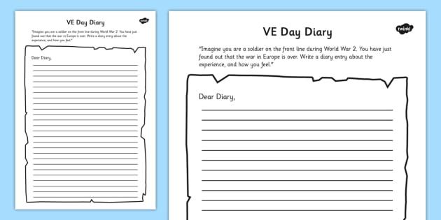 dear diary template - Dorit.mercatodos.co