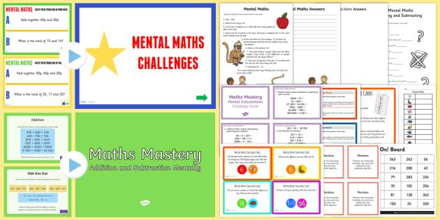 Mental Arithmetic 4 Key Stage 2 Maths Worksheets Ks2 5760421