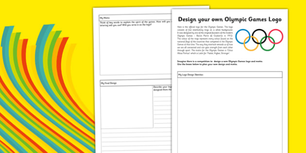Logo design worksheet