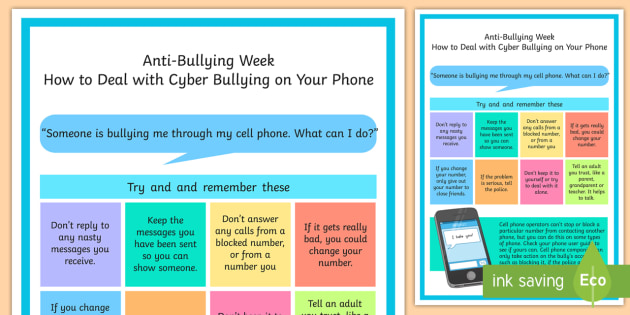 How to Deal With Cyber Bullying As a Child or Teen