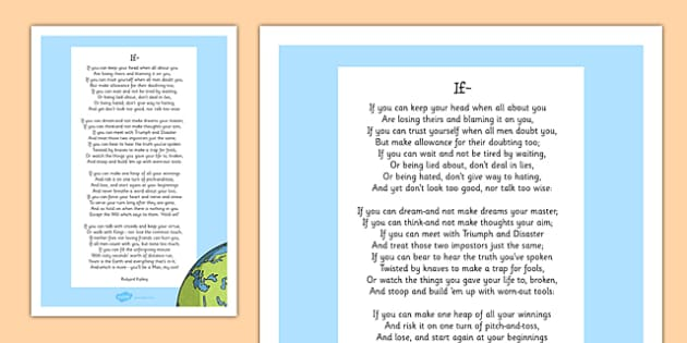 poème rudyard kipling