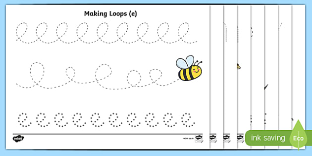Pencil Control Worksheets Handwriting tracing lines lines – Visual Tracking Worksheets