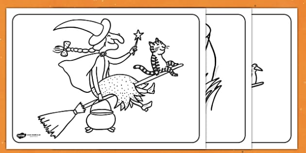 Colouring Sheets to Support Teaching on Room on the Broom ...