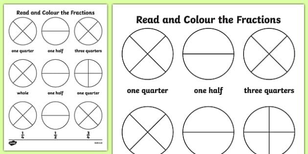 year 3 fractions homework