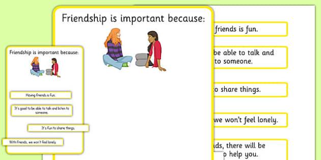 Free Worksheets » Friendship Worksheets - Free Printable ...