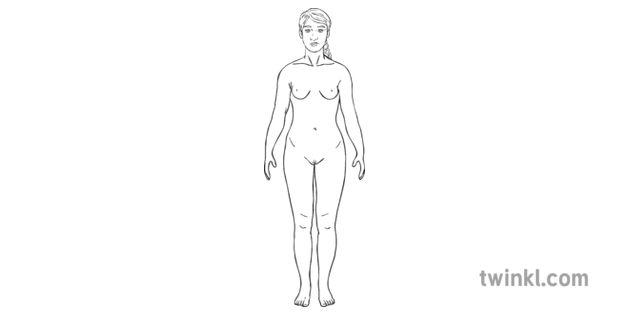 nude body girl on puberty