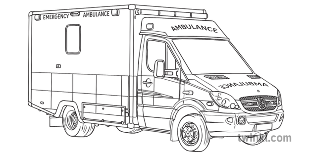 Ambulance Vehicle Service Nhs Foundation Trust Van Official General
