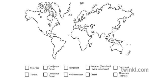 Biomes Of The World Classroom Mangement Geography Asia World ...