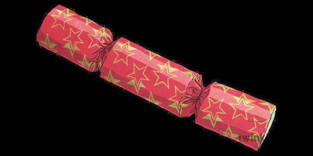 Christmas Cracker Png.Christmas Cracker Illustration Twinkl