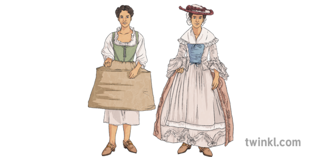 Colonial Women Garments Clothing United States Usa Fashion Mps Ks2
