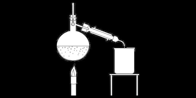 Distillation Apparatus Experiment Practical Chemistry