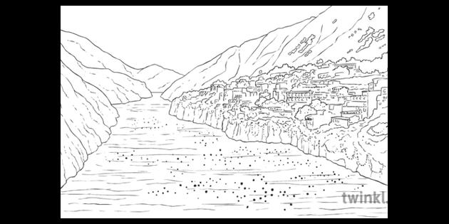 Diwali Scene Indus River Spag Problem Solving Mystery Classic English Ks2