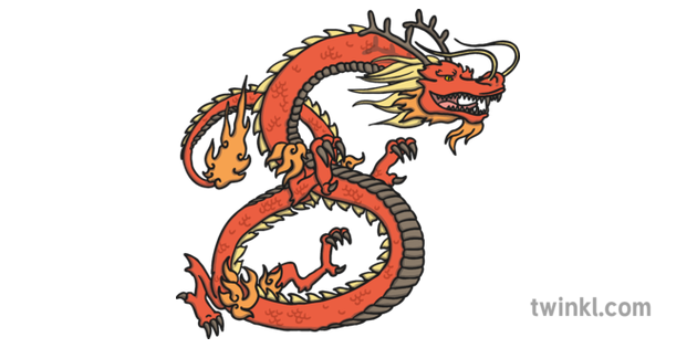 Eastern Dragon Chinese Zodiac Animal Sign Chinese Confucius
