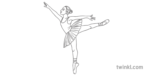 Female Ballerina Ballet Tutu Classical Dance Pe Sports General People