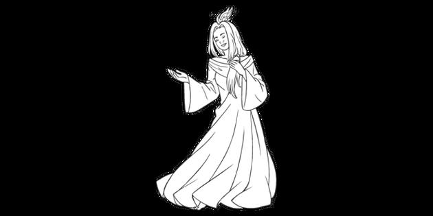 Ghost Of Christmas Past A Christmas Carol Character English Ks3 Ks4 Black