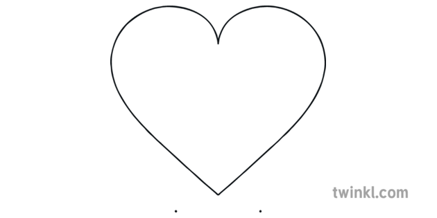 Heart Shape Template Blank Mosaic I Love You to Pieces ...
