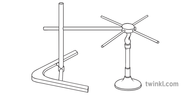 heat conduction in metals science diagram tripod bunsen burner rh twinkl co in tripod beta diagram tripod lashing diagram