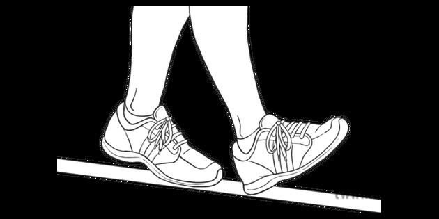 Heel To Toe >> Heel To Toe Walking Along A Straight Line Lks2 Daily Move