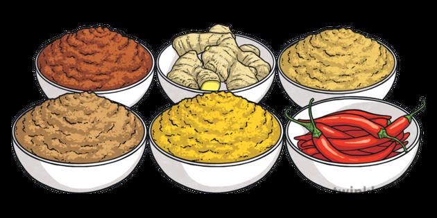 Indian Spices Chili Ginger Turmeric Cinnamon Garam Masala Curry Food Usa Ks2