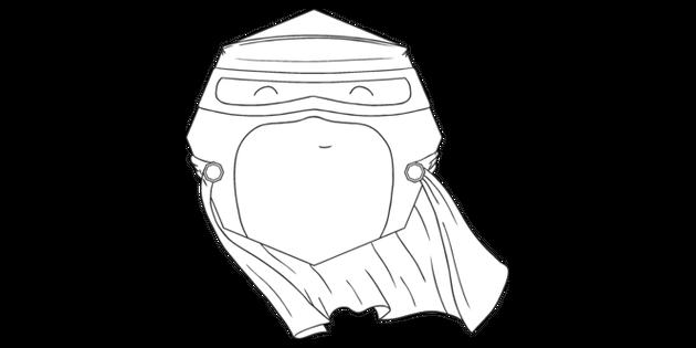 KS1 Superhero Octagon 2D Shape Maths Super Hero Cape Mask
