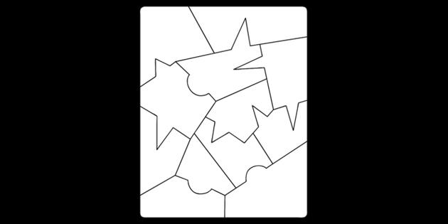 Maths Pattern Colouring Sheet 1 Illustration Twinkl