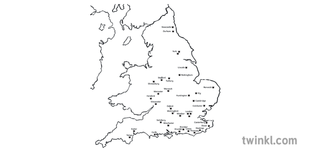 Map Of England Castles.Norman Castles In England Map History Normans 1066 England Secondary