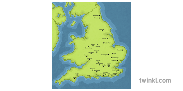Map Of Uk 1066.Norman Castles In England Map History Normans 1066 England