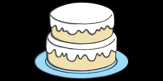Fine Plain Birthday Cake Food Blank Design Classic Topics Ks1 Illustration Funny Birthday Cards Online Amentibdeldamsfinfo
