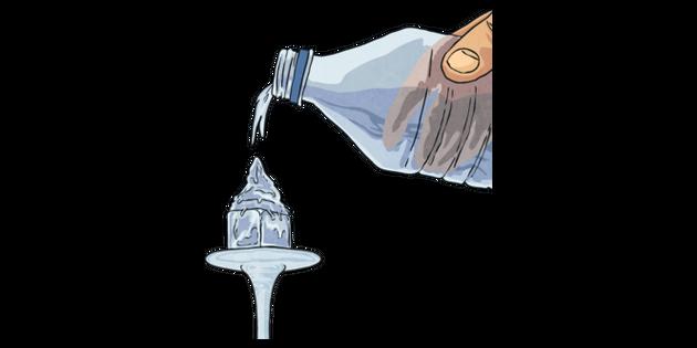 Supercongelation Water Freezing Ice Cube Bottle Science Experiment Mps Ks2