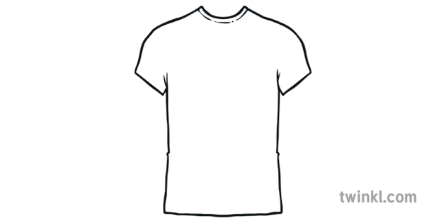 T Shirt Outline Illustration Twinkl The best selection of royalty free tshirt outline vector art, graphics and stock illustrations. t shirt outline illustration twinkl
