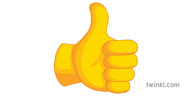 Thumbs Up Emoji Texting Symbol Icon Good General Secondary ...Thumbs Up Symbol