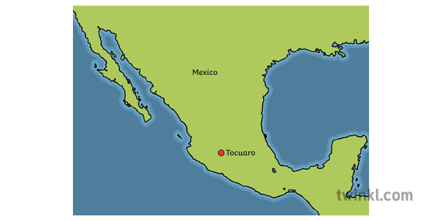 Tocuaro Location Map Mexico Geography Information Power ...