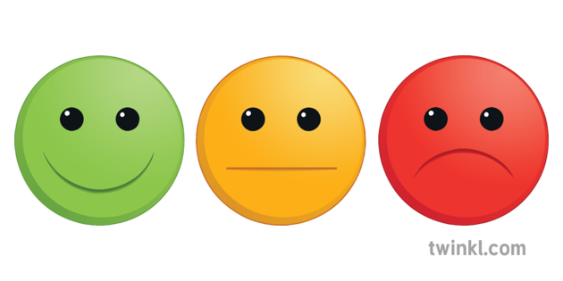 Traffic Light Smileys Illustration Twinkl