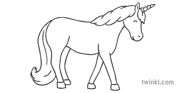 Two Unicorns Together Mythical Creatures Horse Colouring ...