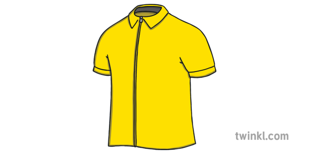 Yellow Cycling Jersey Tour De France Brochure Template Ks1 Illustration