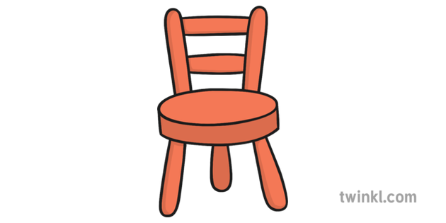 Baby Bear Chair Illustration Twinkl