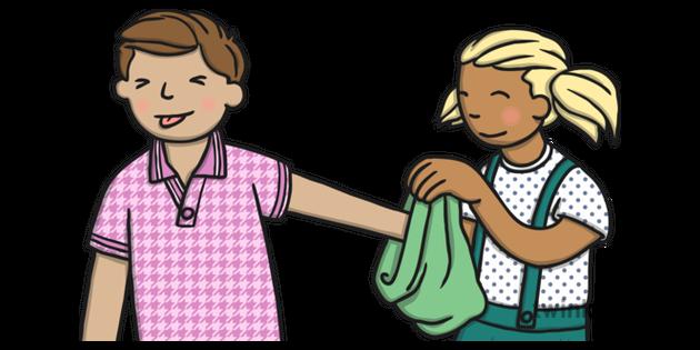 Feely Bag Illustration - Twinkl