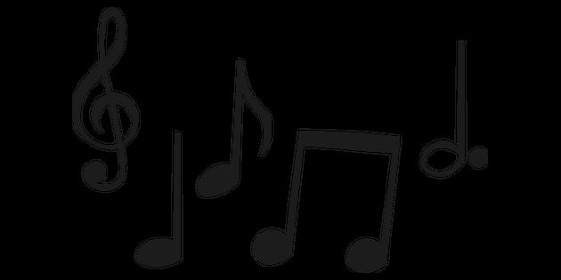 Notes De Musique 1 Illustration Twinkl