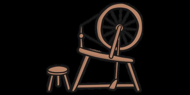 Incredible Spinning Wheel Illustration Twinkl Creativecarmelina Interior Chair Design Creativecarmelinacom